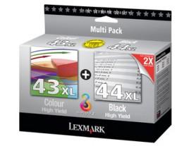 Genuine Lexmark 43XL/44XL Ink Cartridges