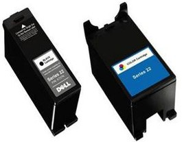 Genuine Dell X737N and X738N Ink Cartridges