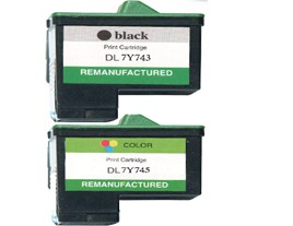 Dell 7Y753 and 7Y745 Ink Cartridges