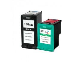 hp 350xl 351xl ink cartridges black colour cb336ee cb338ee printer cartridges. Black Bedroom Furniture Sets. Home Design Ideas