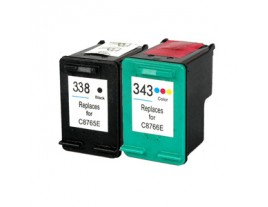 HP 338 / 343 Ink Cartridges