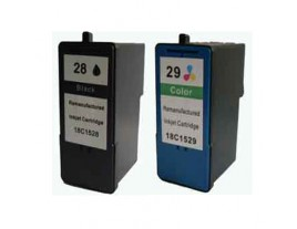 Lexmark No 28 and 29 Ink Cartridges