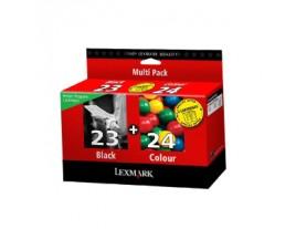 Genuine Lexmark No 23/24 Ink Cartridges
