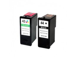 Lexmark No 43XL and 44XL Ink Cartridges
