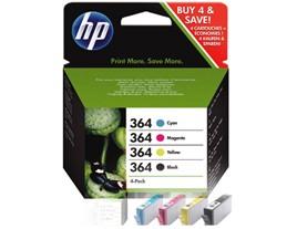Genuine HP 364 Ink Cartridges Multipack