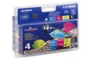 Brother LC1000 Ink Cartridges Multipack Genuine (LC1000VALBP)