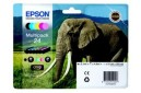Epson 24 Ink Cartridges Multipack Genuine - T2428
