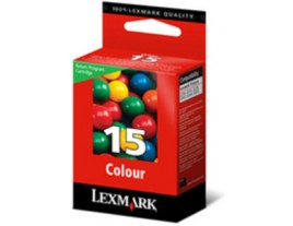 Genuine Lexmark No 15 Colour Ink Cartridge