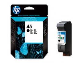 HP Genuine 45 Black Ink Cartridge