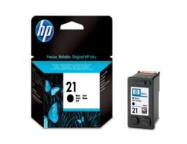 HP Genuine 21 Black Ink Cartridge