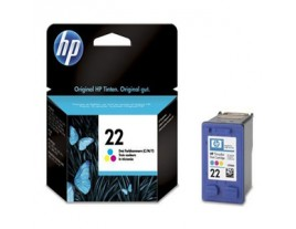 HP Genuine 22 Colour Ink Cartridge