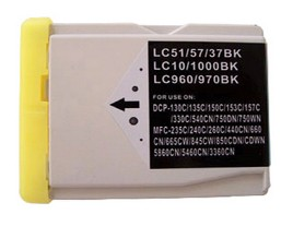 Brother Compatible LC970Bk Black Ink Cartridge