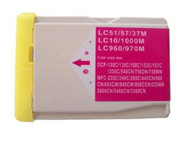 Brother Compatible LC1000M Magenta Ink Cartridge