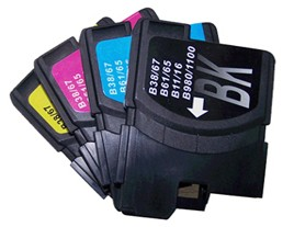 Brother Compatible LC1100 Ink Cartridges Multipack