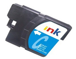 Brother Compatible LC980C Cyan Ink Cartridge