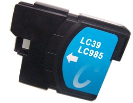 Brother Compatible LC985C Cyan Ink Cartridge