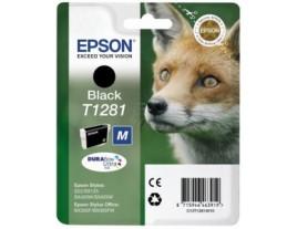 Genuine Epson T1281 Black Ink Cartridge