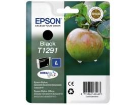 Genuine Epson T1291 Black Ink Cartridge