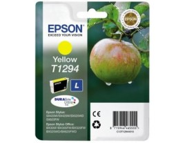Genuine Epson T1294 Yellow Ink Cartridge