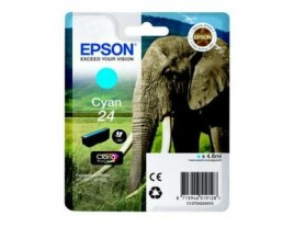Epson 24 Cyan Ink Cartridge Genuine -T2422