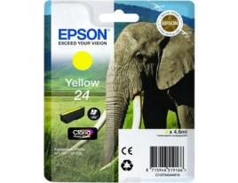 Epson 24 Yellow Ink Cartridge Genuine - T2424