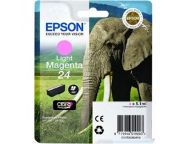 Epson T24 Light Magenta Ink Cartridge Genuine - T2426