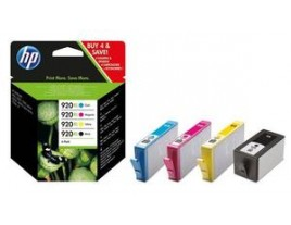 Genuine HP 920XL Ink Cartridges Multipack