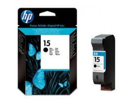 HP Genuine 15 Black Ink Cartridge