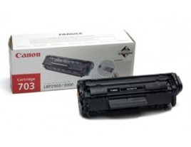 Genuine Canon 703 Black Toner Cartridge