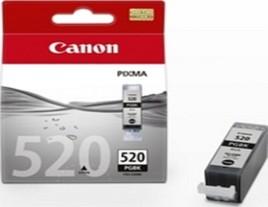 Genuine Canon PGi-520BK Black Ink Cartridge