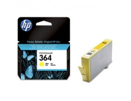 Genuine HP 364 Yellow Ink Cartridge