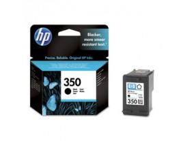 Genuine HP 350 Black Ink Cartridge