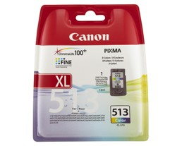 Genuine Canon CL-513 Colour Ink Cartridge