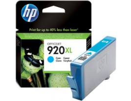 Genuine HP 920XL Cyan Ink Cartridge