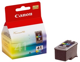 Genuine Canon CL-41 Colour Ink Cartridge - 0617B001