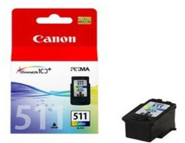 Genuine Canon CL-511 Colour Ink Cartridge