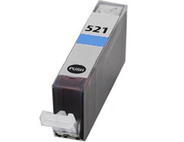 Compatible Canon Cli-521C Cyan Ink Cartridge