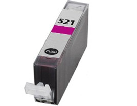Compatible Canon Cli-521M Magenta Ink Cartridge