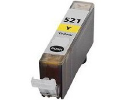 Compatible Canon Cli-521Y Yellow Ink Cartridge