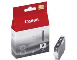 Genuine Canon Cli-8BK Black Ink Cartridge