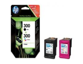 HP Genuine 300 Black / Colour Ink Cartridges
