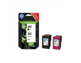 HP Genuine 301 Black / Colour Ink Cartridges