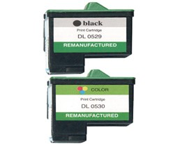 Compatible Dell T0529 and T0530 Ink Cartridges