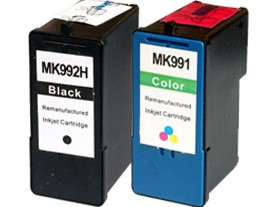 Dell MK992 and MK993 Compatible Ink Cartridges