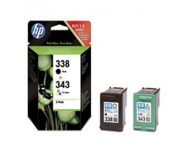 HP Genuine 338/343 Ink Cartridges