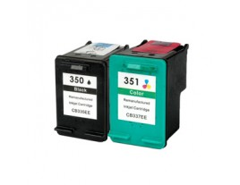 HP 350 351 Ink Cartridges Multipack