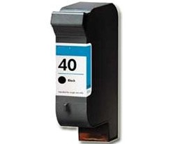 HP 40 Black Ink Cartridge