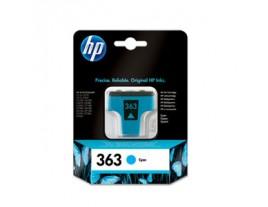 Genuine HP 363 Cyan Ink Cartridge