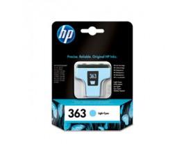 Genuine HP 363 Light Cyan Ink Cartridge