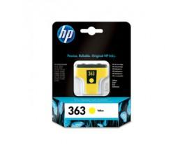 Genuine HP 363 Yellow Ink Cartridge